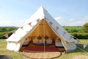 Dream House Outdoor All Season Heavy Duty Shade Pinnacle Glamping Tent