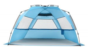 Pacific Breeze EasyUp Beach Tent Deluxe XL
