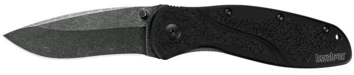 Kershaw 1670BW Blur Folding Knife with Blackwash SpeedSafe