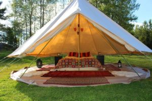Dream House Outdoor glamping tent