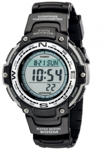 Casio Men's SGW100-1V Twin Sensor Digital Watch