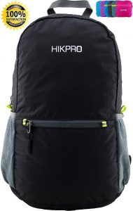 HIKPRO #1 Rated Ultra Lightweight Packable Backpack Hiking Daypack