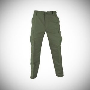 Military Men's 100% Cotton Rip Stop BDU Cargo Pants, Made in USA