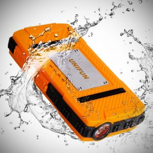 Unifun 10400mAh Waterproof External Battery Power Bank