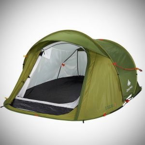 DECATHLON 2 Seconds Pop Up Easy-to-carry Tent 2 Person,Green