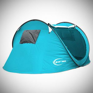 Outdoor Pop Up Camping Hiking Tent Automatic Setup Easy Fold Back GJ-031A