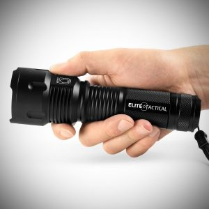 Elite Tactical Pro 300 Series Tactical Flashlight