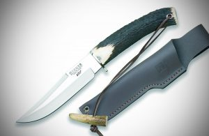 Joker CC72USA De Monte Hunting Knife, 5.46-Inch