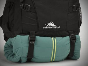 High Sierra Loop Backpack straps