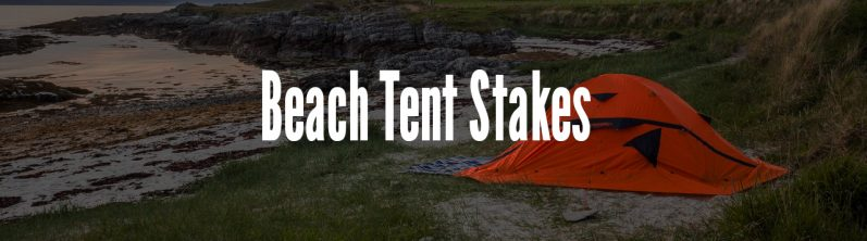 beach tent stakes
