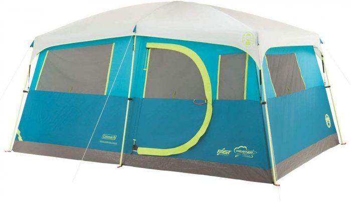 Coleman 8-Person Tenaya Lake Fast-Pitch Cabin Tent
