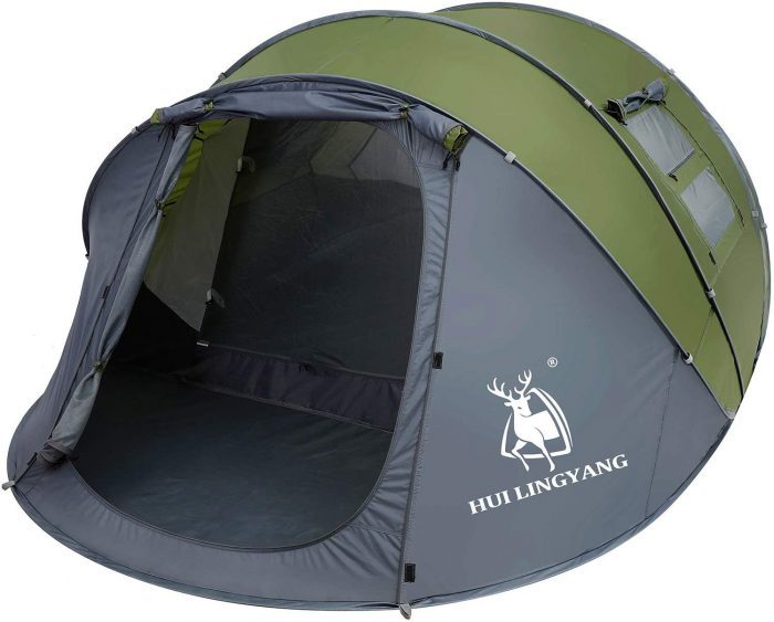 HUI LINGYANG 6 Person Pop Up Tent