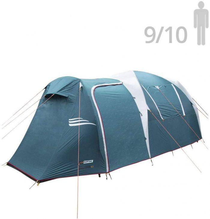 NTK Arizona GT 10 Person Sports Camping Tent
