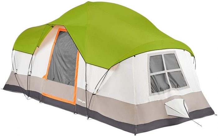 Tahoe Gear Olympia 10 Person Cabin Tent