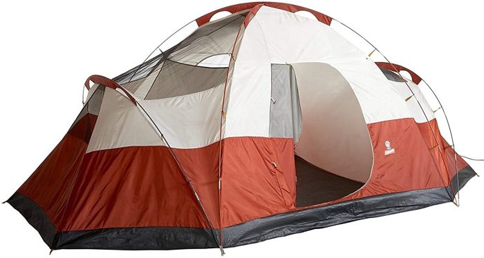 Coleman Red Canyon 8-Person Tent back