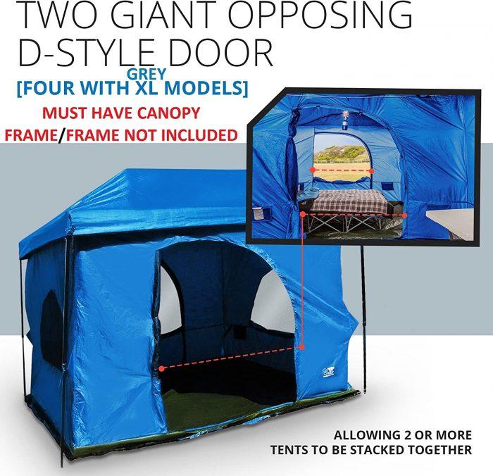 Standing Room Tents 100 Hanging Cabin Tent