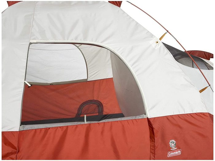 Coleman Red Canyon 8-Person Tent side