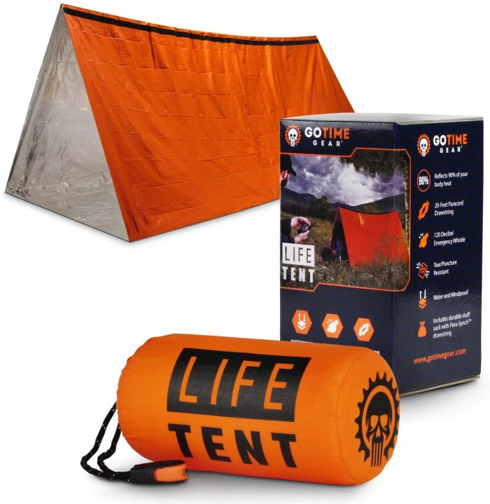 Go Time Gear Emergency Survival Tent