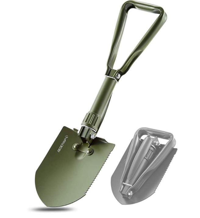 REDCAMP Military Folding Shovel
