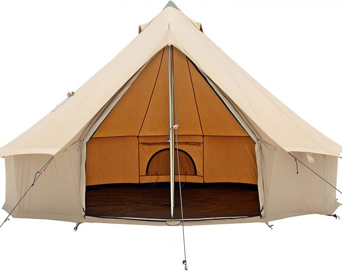 White Duck Bell Tent