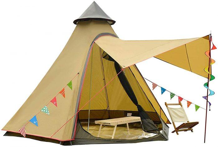 Vidalido Outdoor Bell Tent