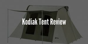 Kodiak Tent Review - Kodiak Canvas Tent (8 Person Tent)